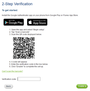 ecoPayz Two-Step Authentication