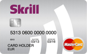 Withdrawal Fee Skrill PrePaid MasterCard