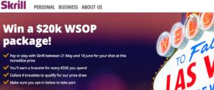 Skrill WSOP Prize Package