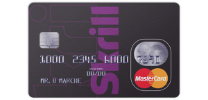 contactless Skrill Card