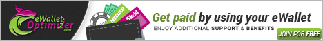 eWallet Optimizier banner. Enjoy additional support and benefits. join for free
