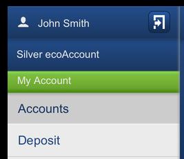 ecoPayz App - Deposit