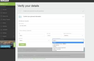 NETELLER Verification Japan - step 2