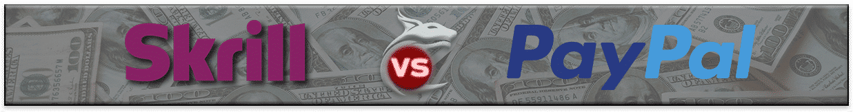 Skrill vs PayPal - Banner