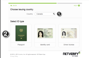 NETELLER verification - step 2