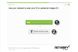 NETELLER verification - step 3