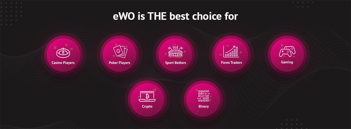 eWO is the best choise for all gambling