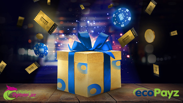 Акция ecoPayz и 888 приветственный пакет