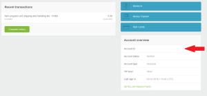 NETELLER Verification Account ID