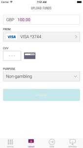 Upload Money