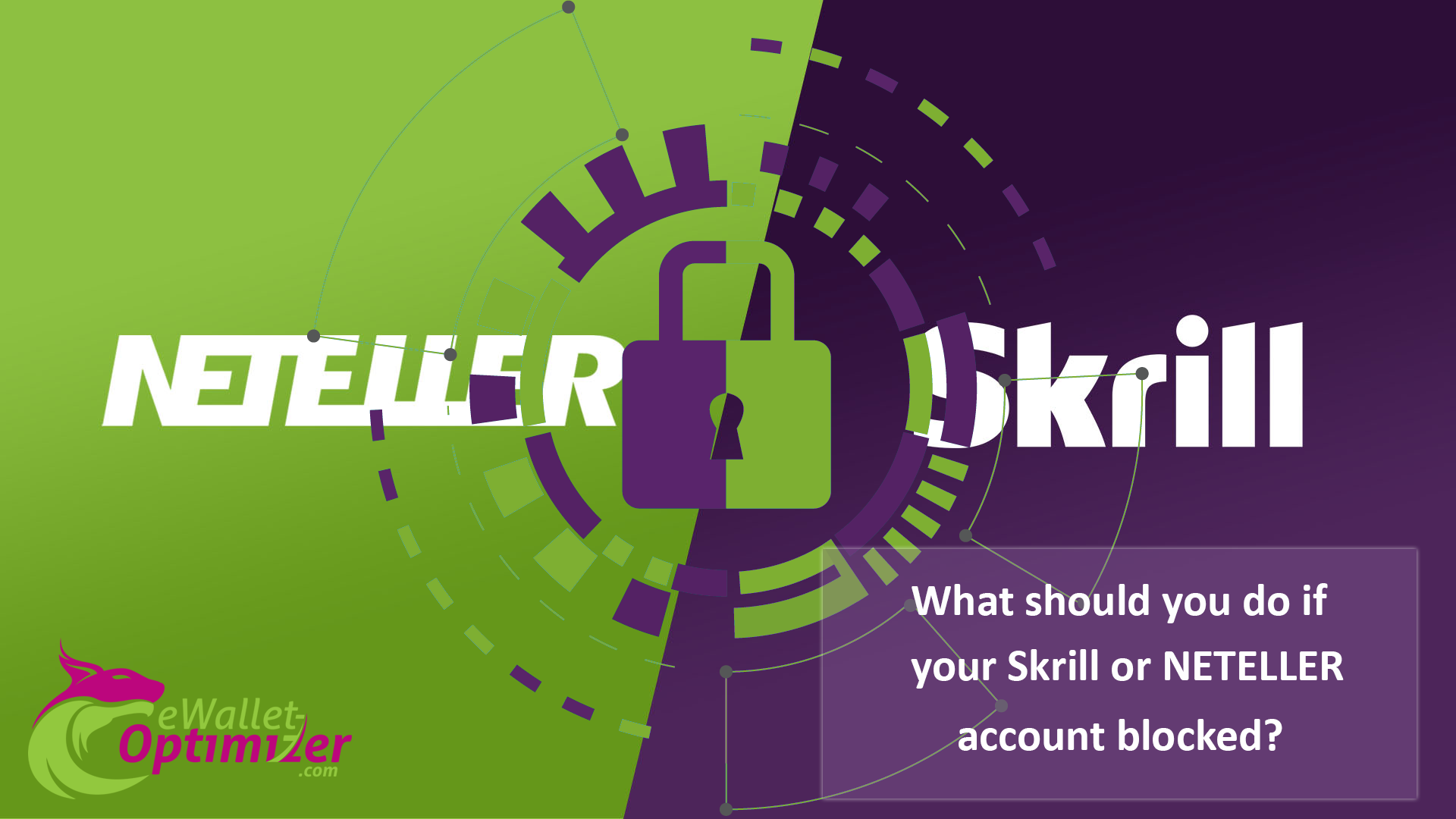 Skrill and NETELLER blocked account