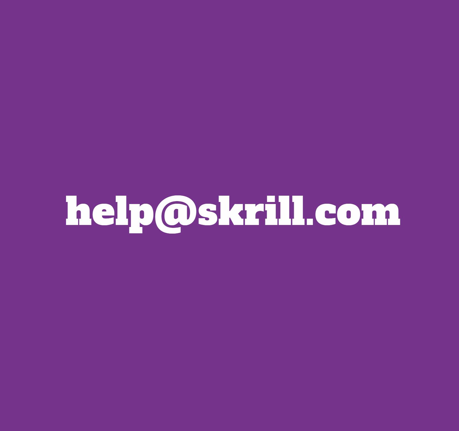 skrill поддержка
