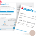 paysafecard ticket