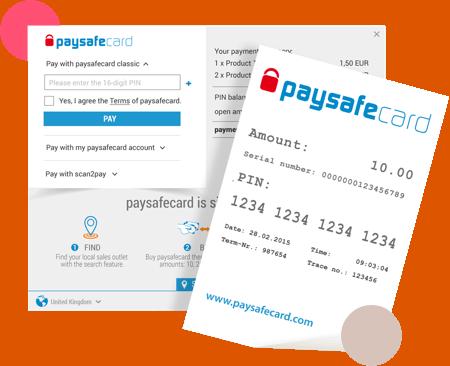 paysafecard ticket