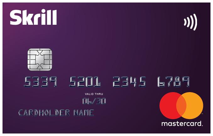 Skrill Card Fees in EUR