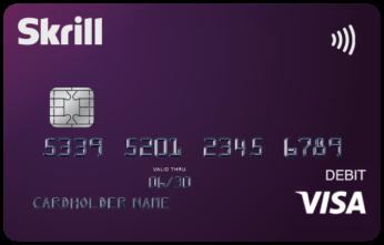 Skrill USA Visa Card