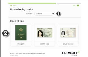 NETELLER verification - step 2