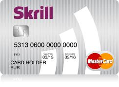 Skrill MasterCard PrePaid