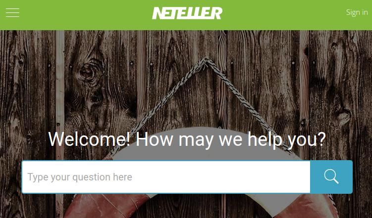NETELLER Support Form
