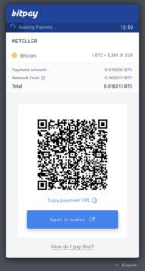 NETELLER & Bitcoin