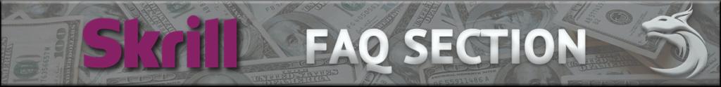 Skrill FAQ - Banner