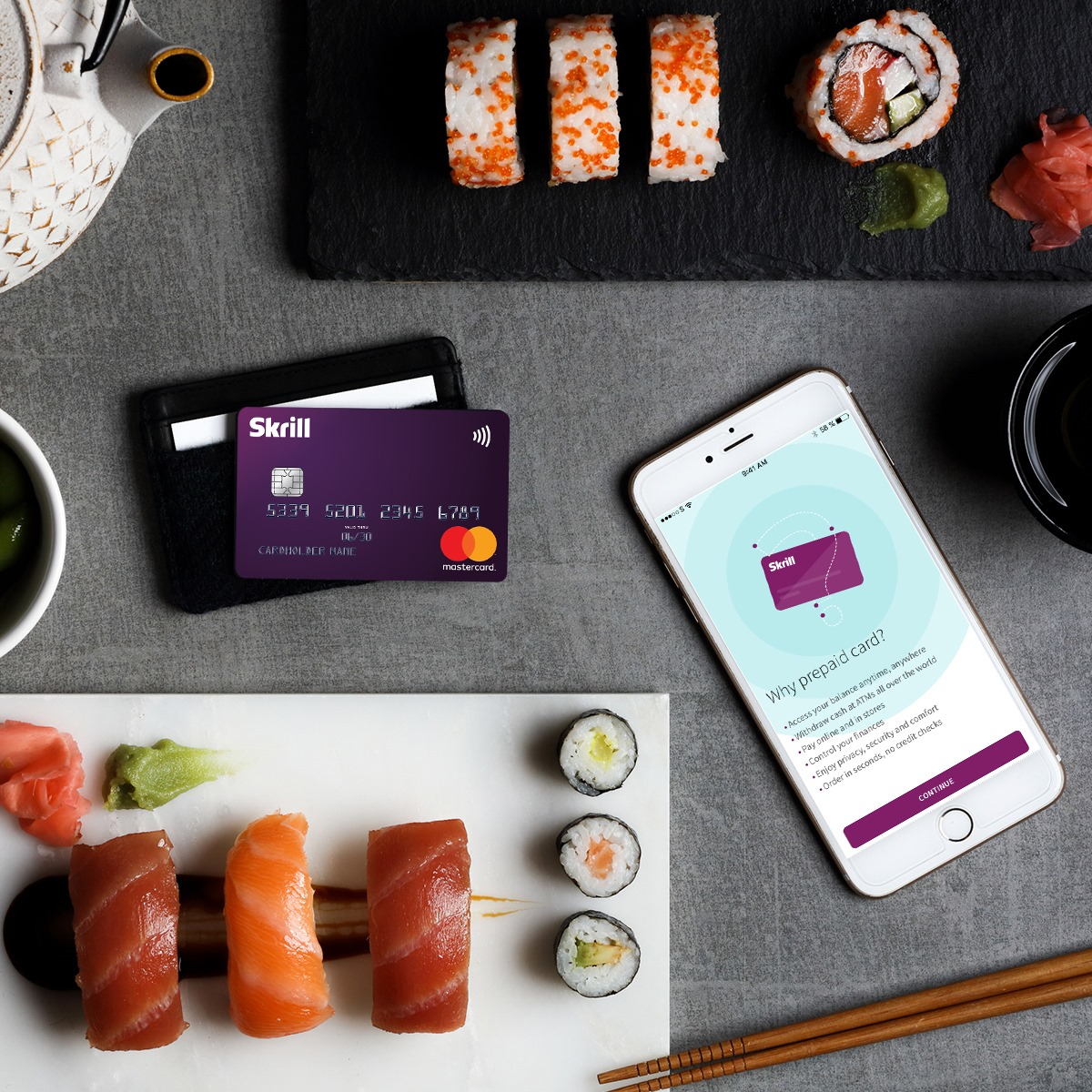 Skrill MasterCard Issues - Who can apply?