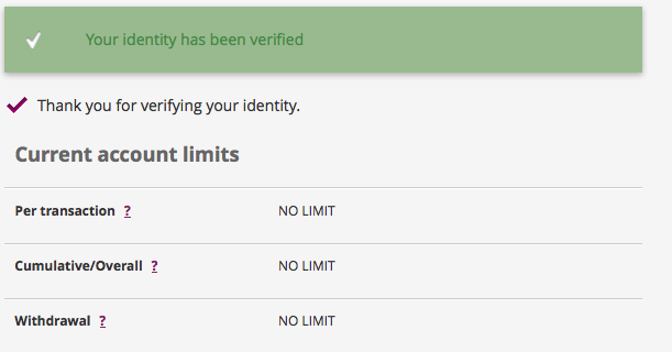 neteller account limits