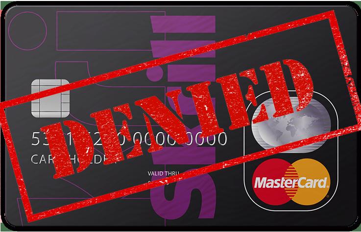 Skrill MasterCard Issues Transfer Denied
