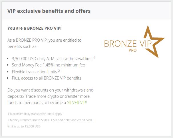 NETELLER Bronze Pro VIP