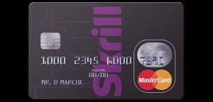 Skrill MasterCard Fees