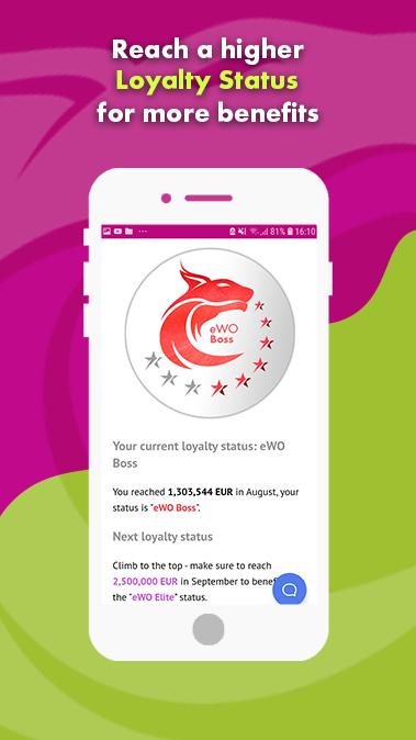 Мобильное приложение eWO