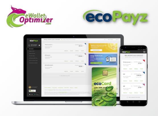 ecoPayz - Free Transfers & Low Fees