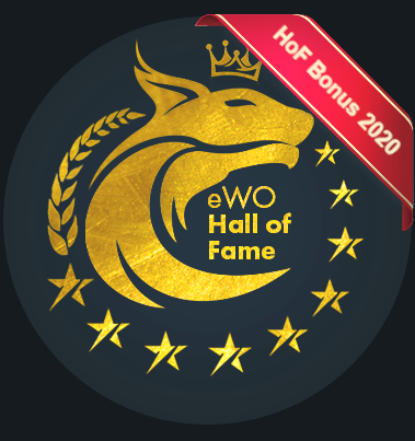 eWO Hall of Fame eWallet 2020