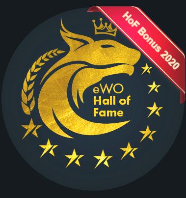 eWO Hall of Fame eWallet 2020