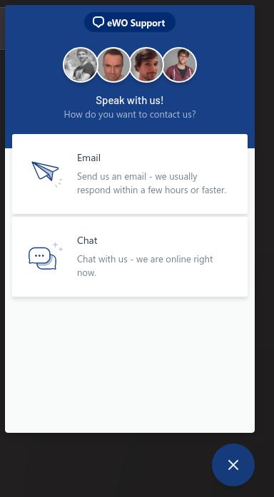 eWallet-Optimizer Live Chat