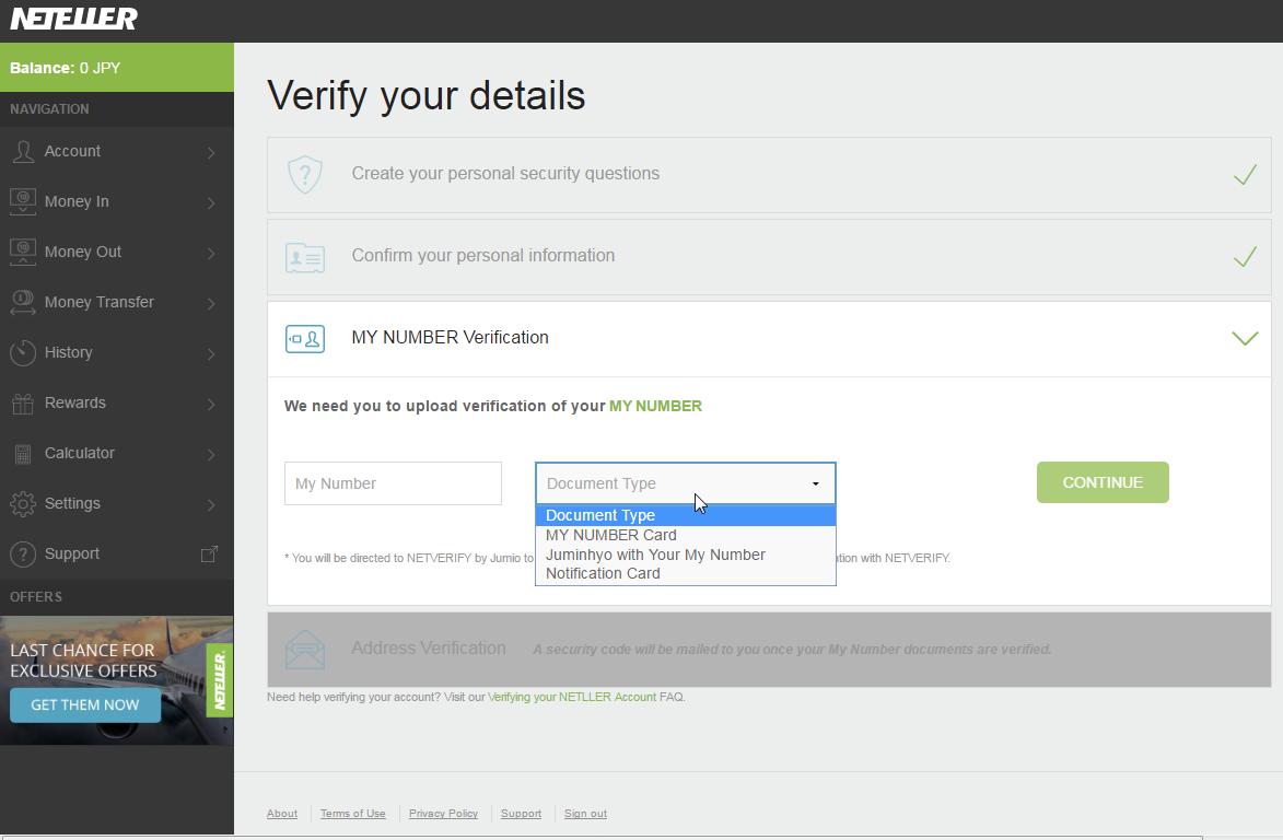 eWallet-Optimizer • NETELLER Verification