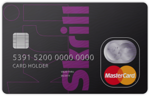 Skrill Virtual MasterCard